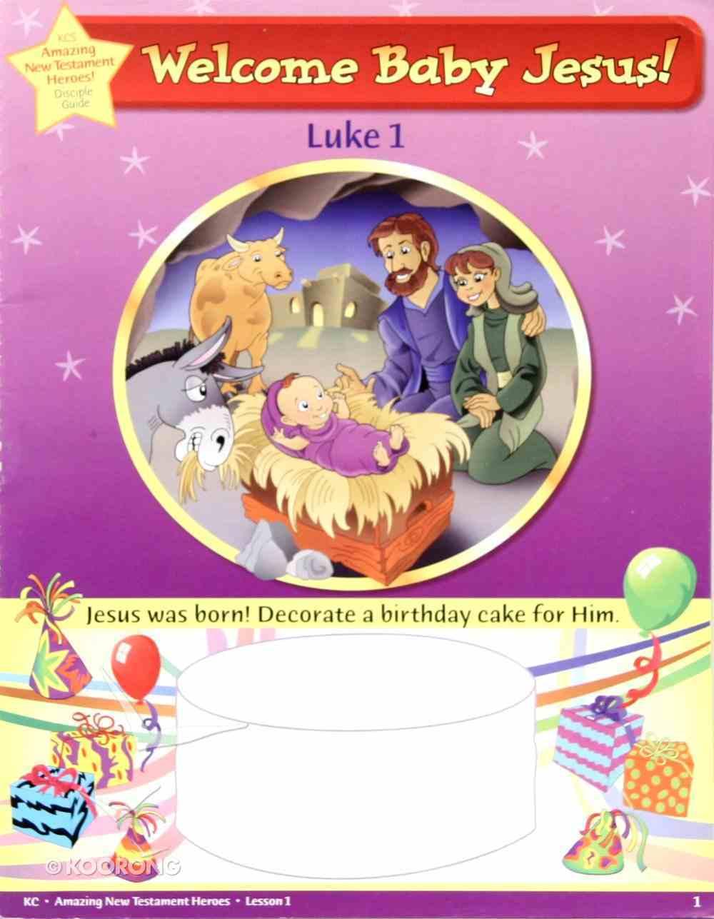 Dlc Kindergarten: Amazing N.T Heroes Ages 5-6 (Student) (Discipleland Kindergarten, Ages 5-6 Series) Paperback
