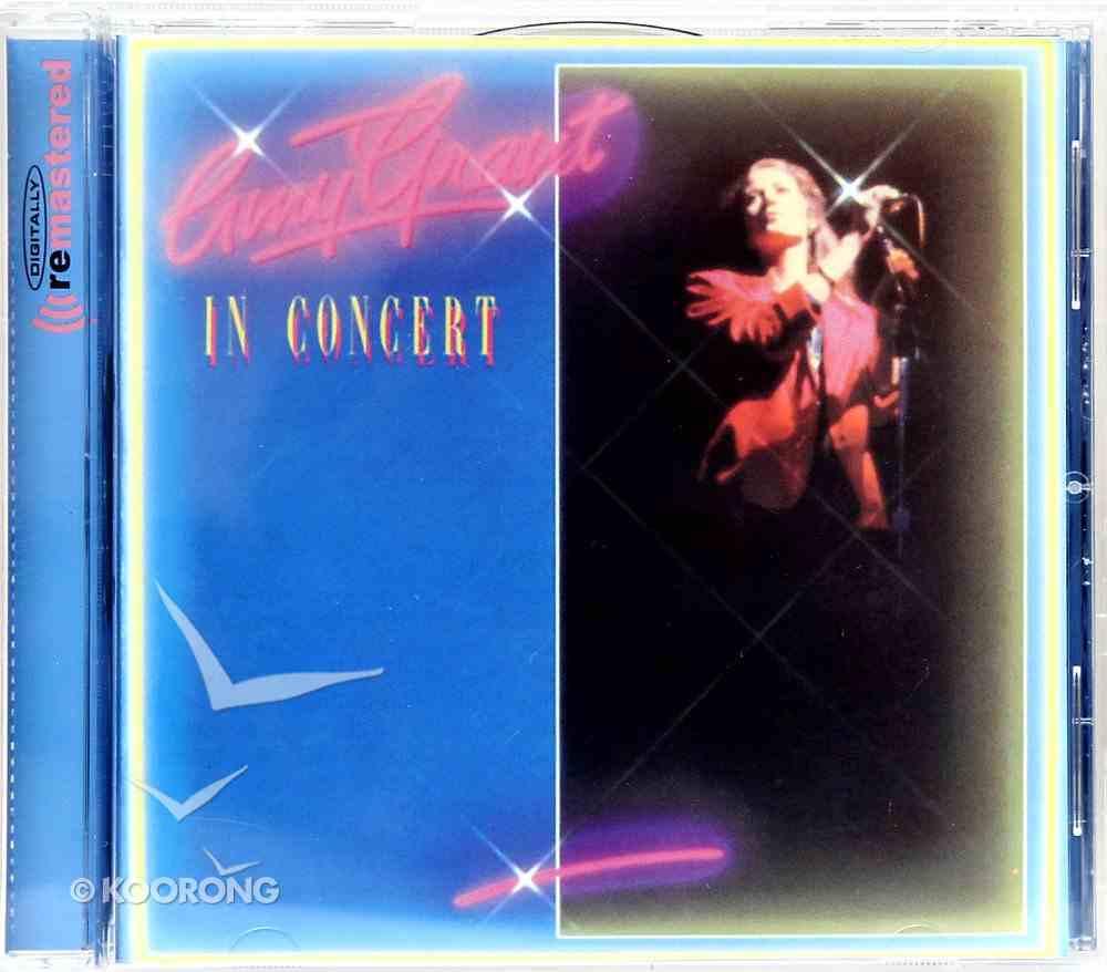 In Concert Live Volume 1 CD