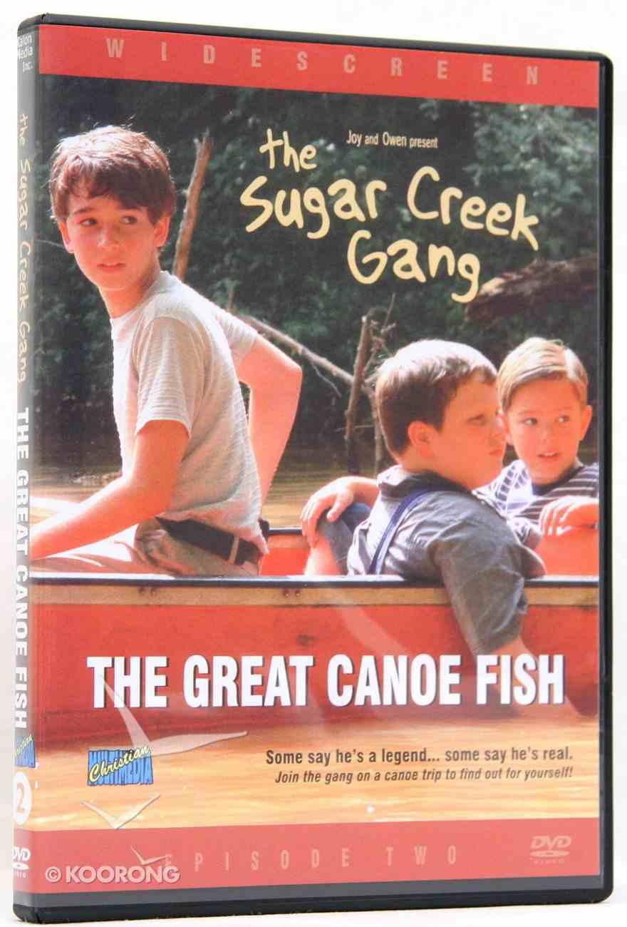 The Great Canoe Fish (#02 in Sugar Creek Gang Series) DVD