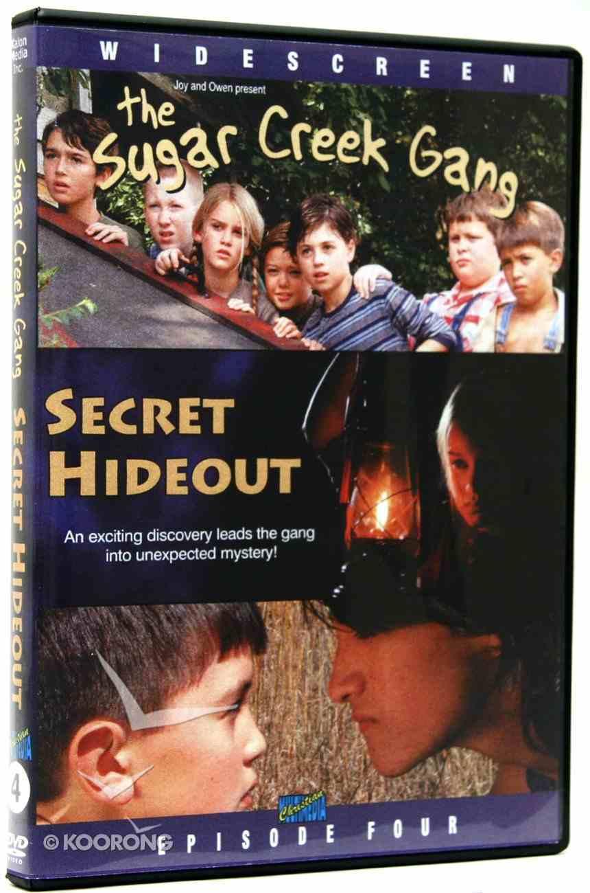 Secret Hideout (#04 in Sugar Creek Gang Series) DVD