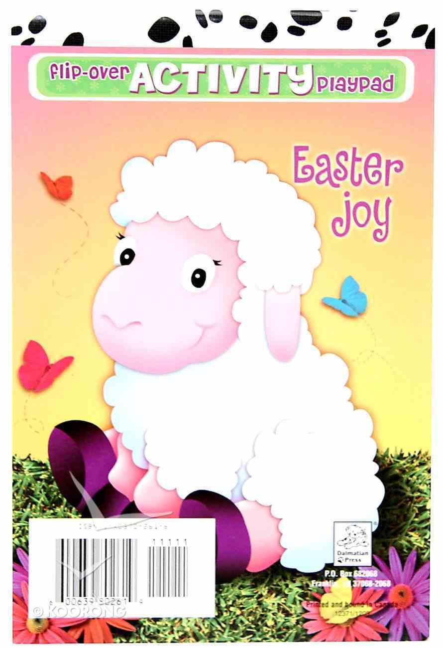 Flip-Over: Easter Joy (Flip-over Activity Playpad Series) Paperback