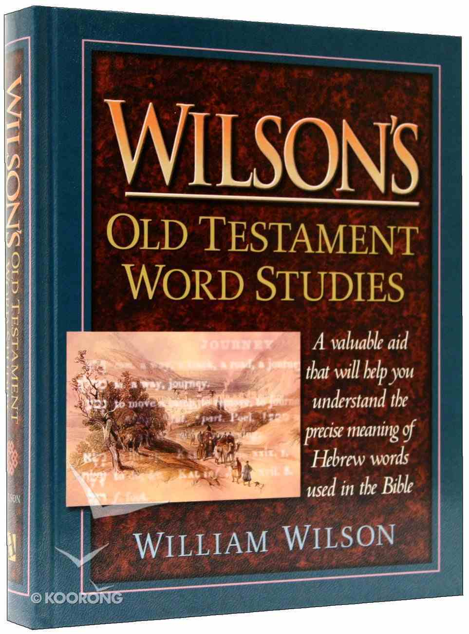 Wilson's Old Testament Word Studies Hardback