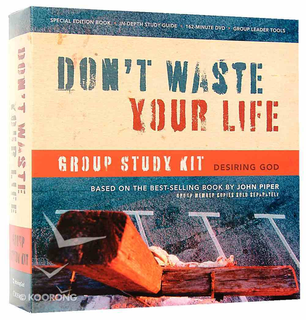 Don't Waste Your Life Group Study Kit (Desiring God) Pack