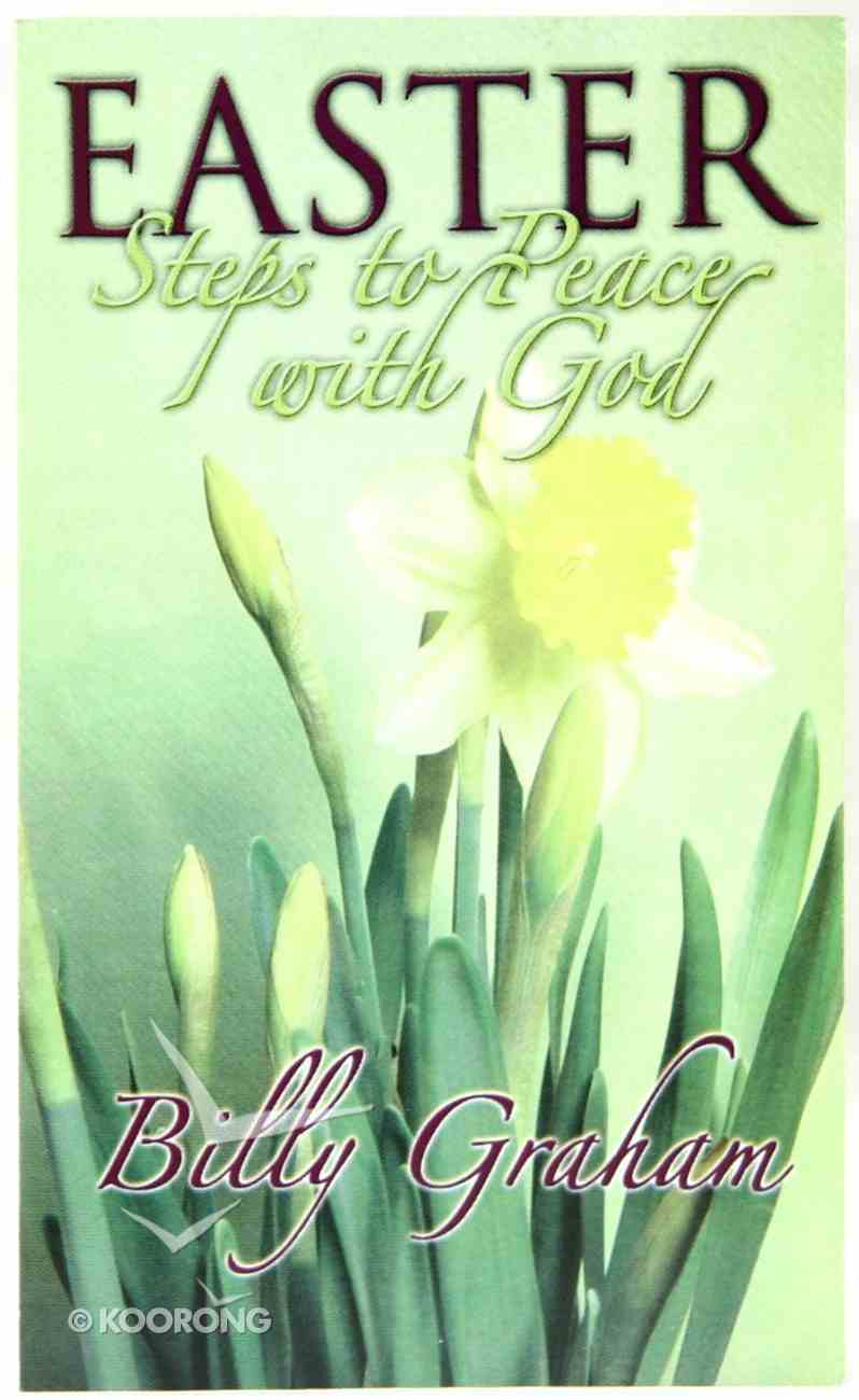 Easter Steps to Peace With God (20 Pack) Booklet