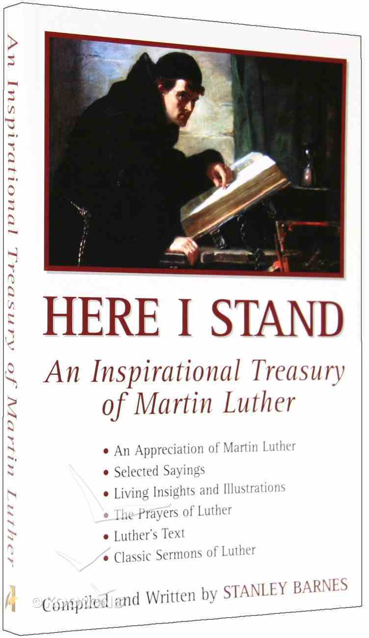 An Inspirational Treasury of Martin Luther Paperback