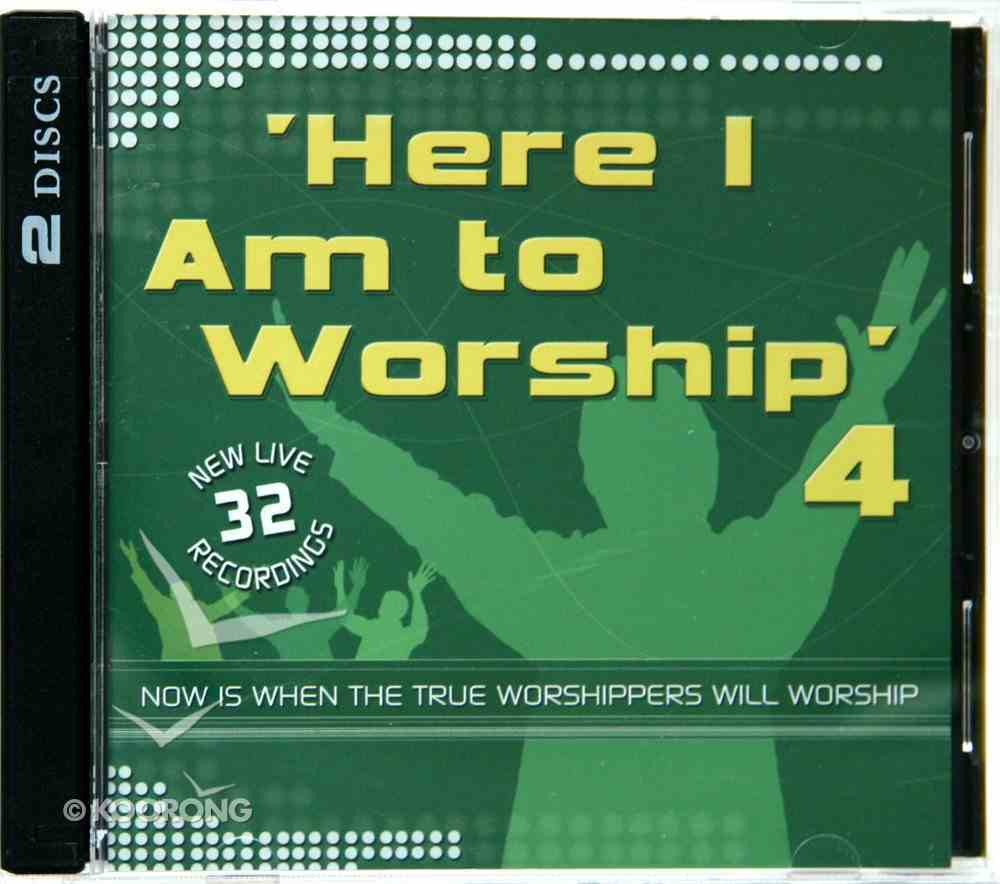 Here I Am to Worship: Volume 4 (Double Cd) CD