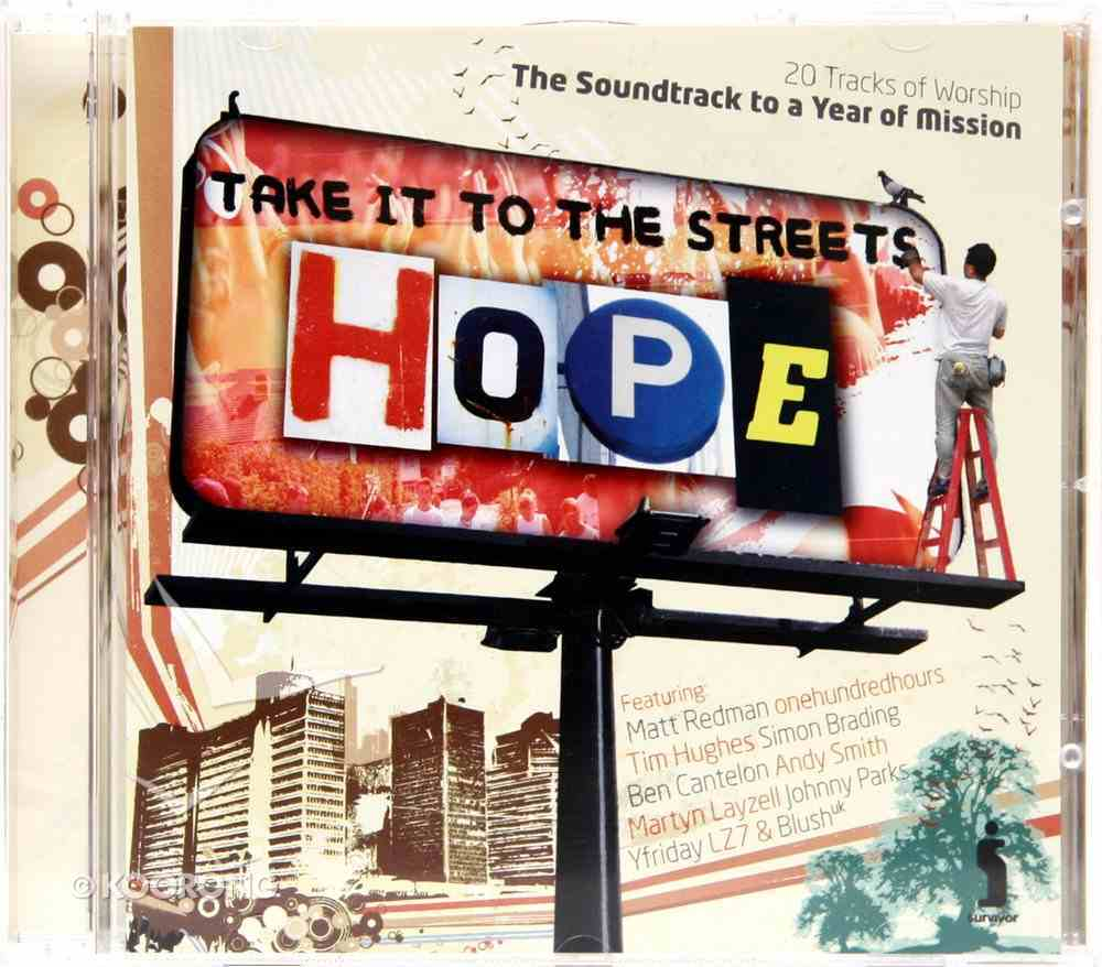 Hope: Take It to the Streets CD