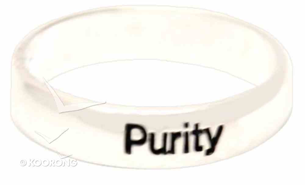 Ring: Purity Size 10 (Sterling Silver) Jewellery