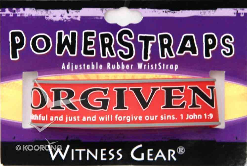 Rubber Wristband: Forgiven Jewellery