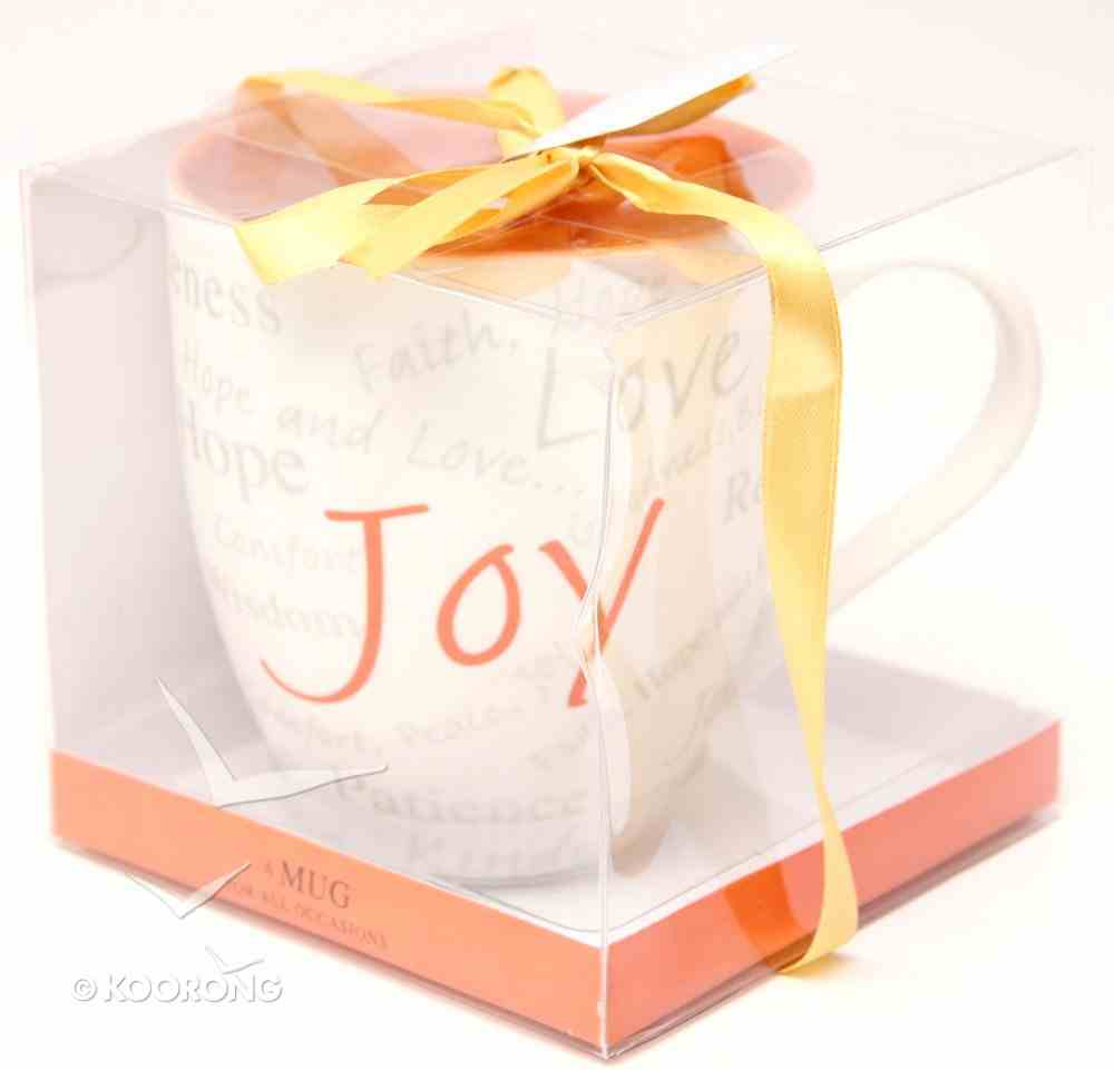 Mug: Gift Boxed - Joy (Mug152e) Homeware