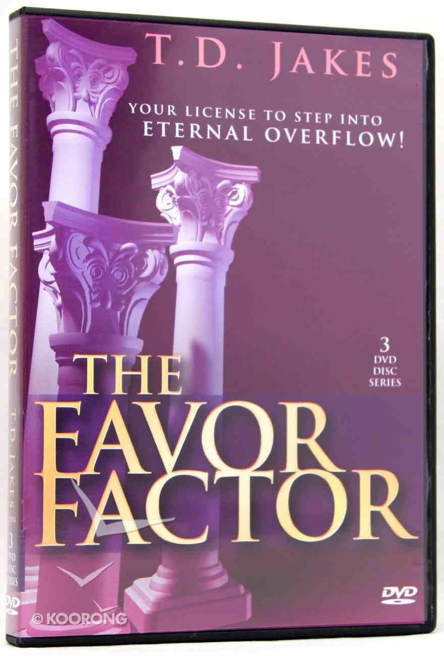 The Favor Factor (3 Dvd) DVD