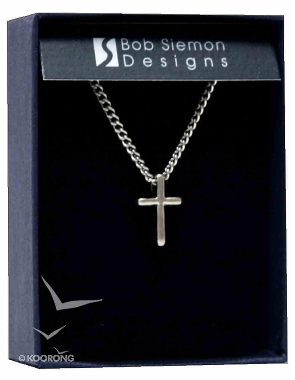 Pendant: Cross Basic Small (Pewter) Jewellery