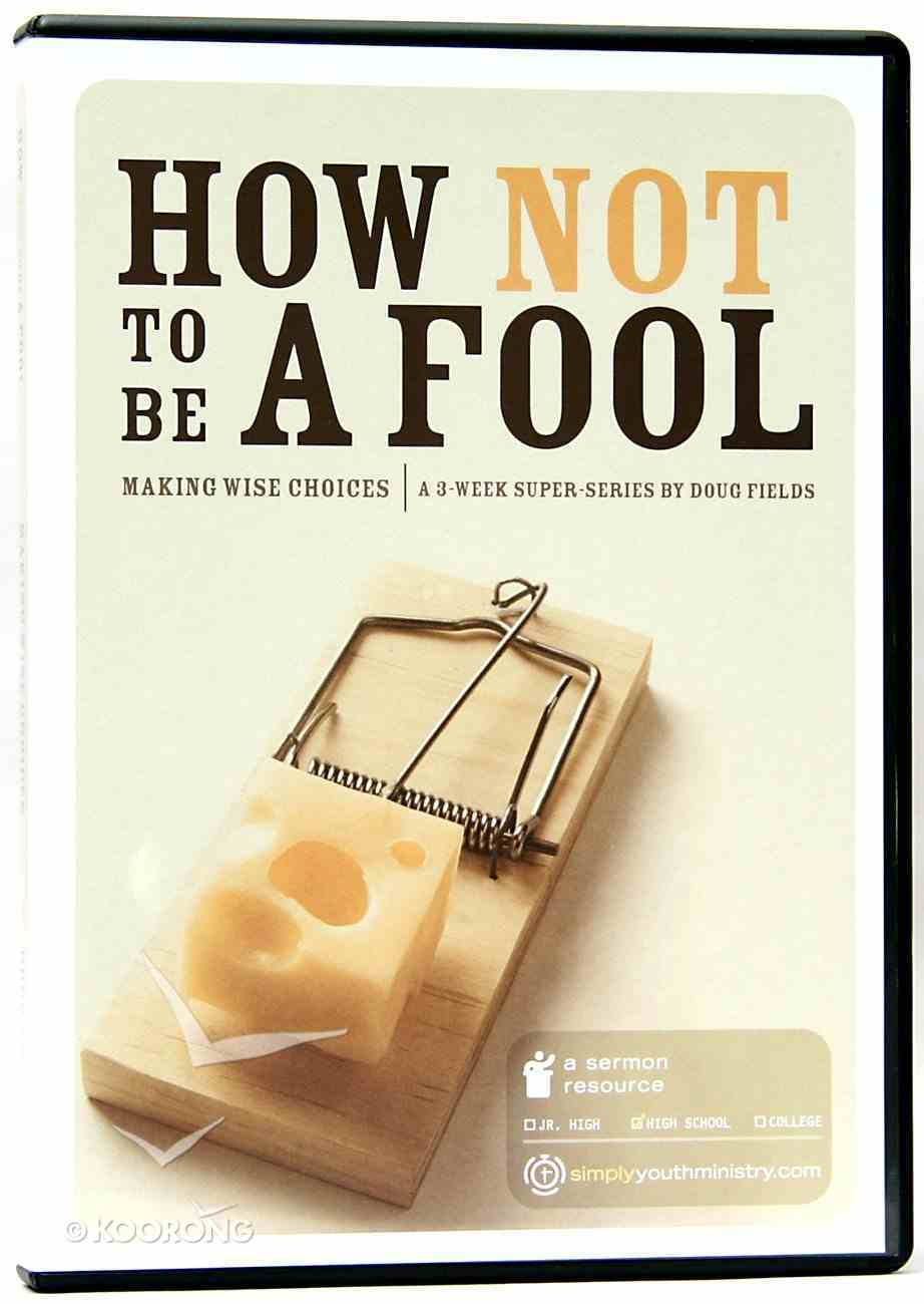 Super Series - How Not to Be a Fool DVD DVD