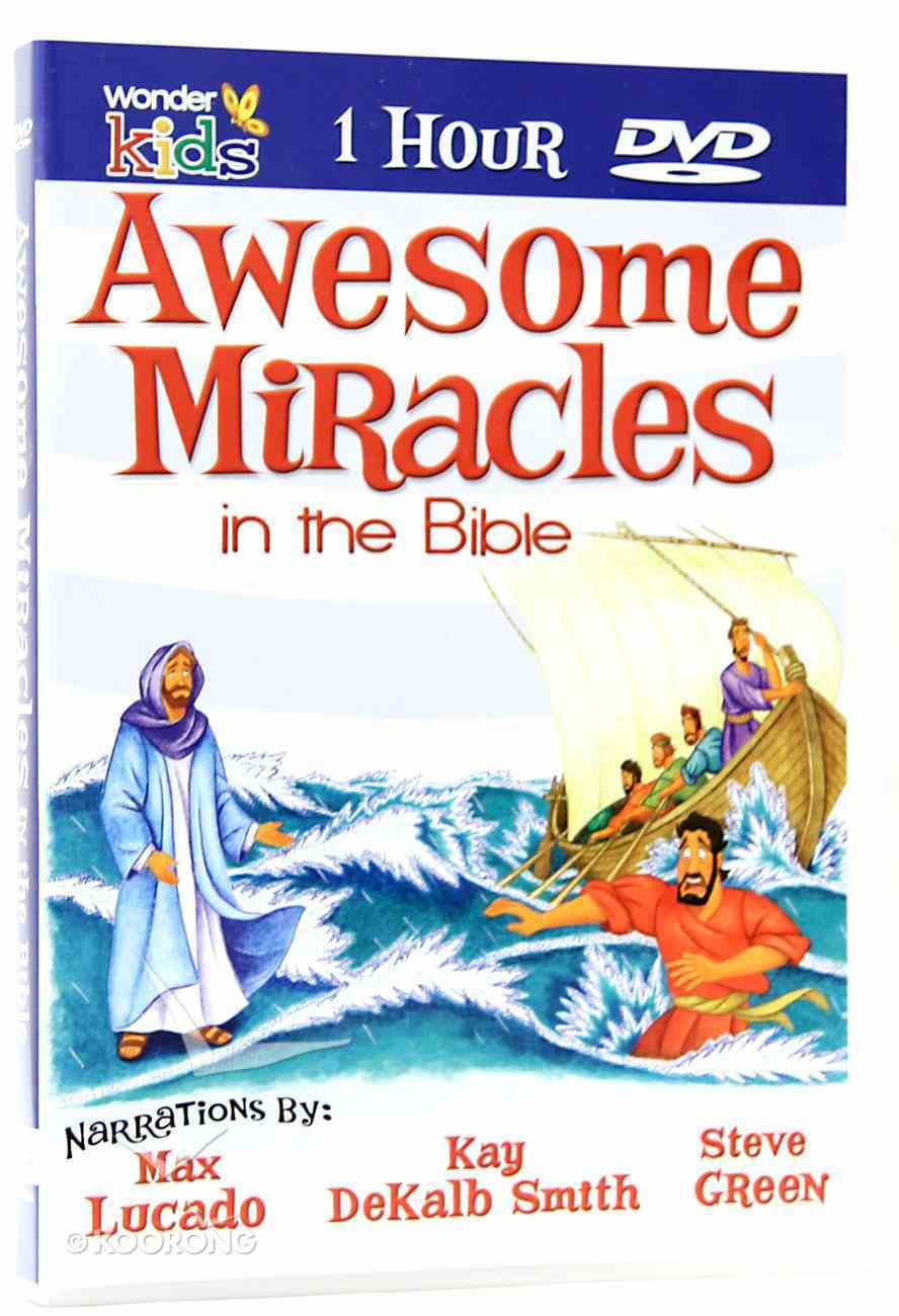 Awesome Miracles in the Bible (1 Hour) CD