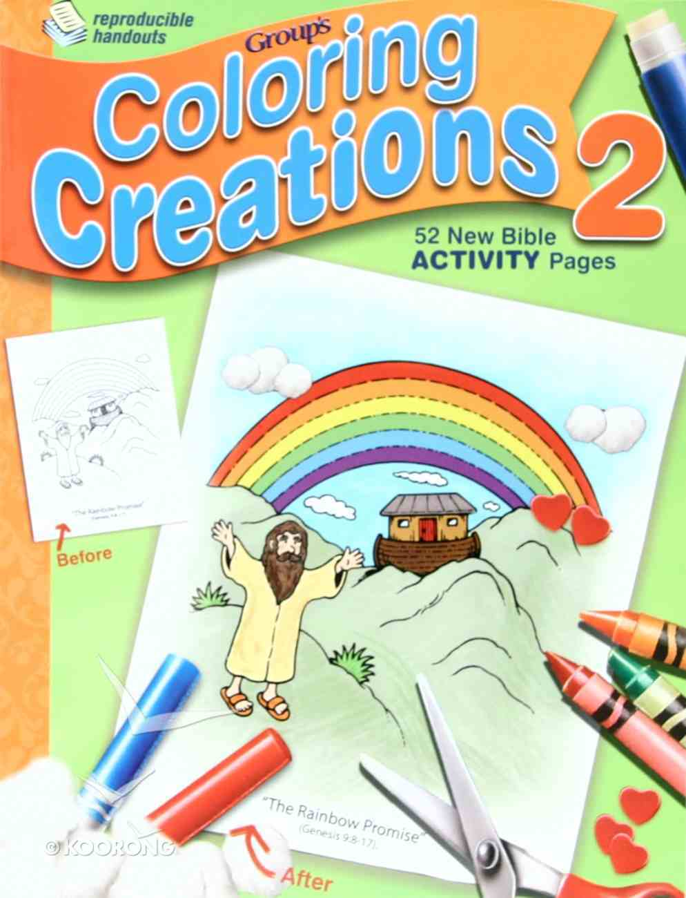 Coloring Creations 2 Paperback
