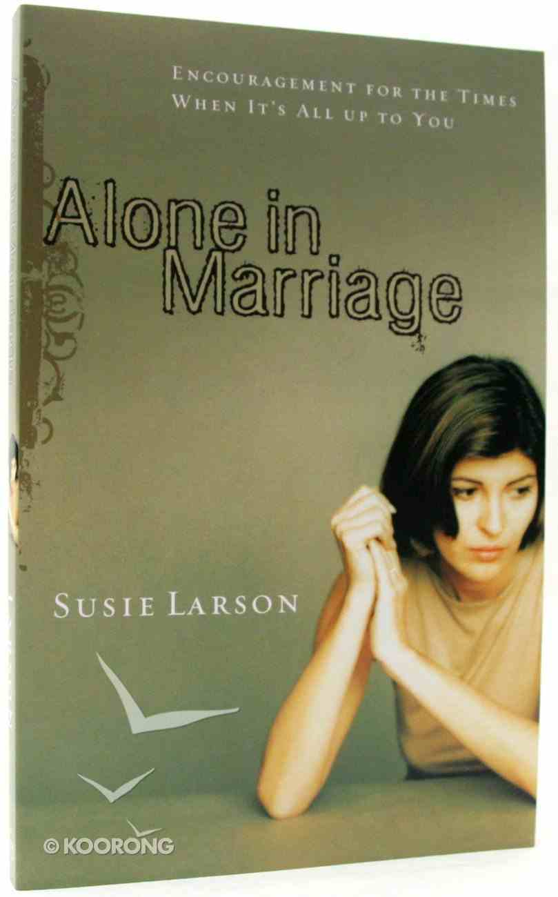 Alone in Marriage Paperback