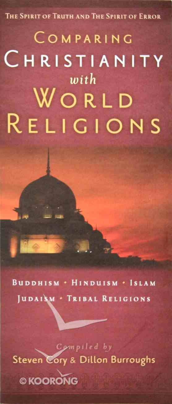 Comparing Christianity With World Religions Booklet