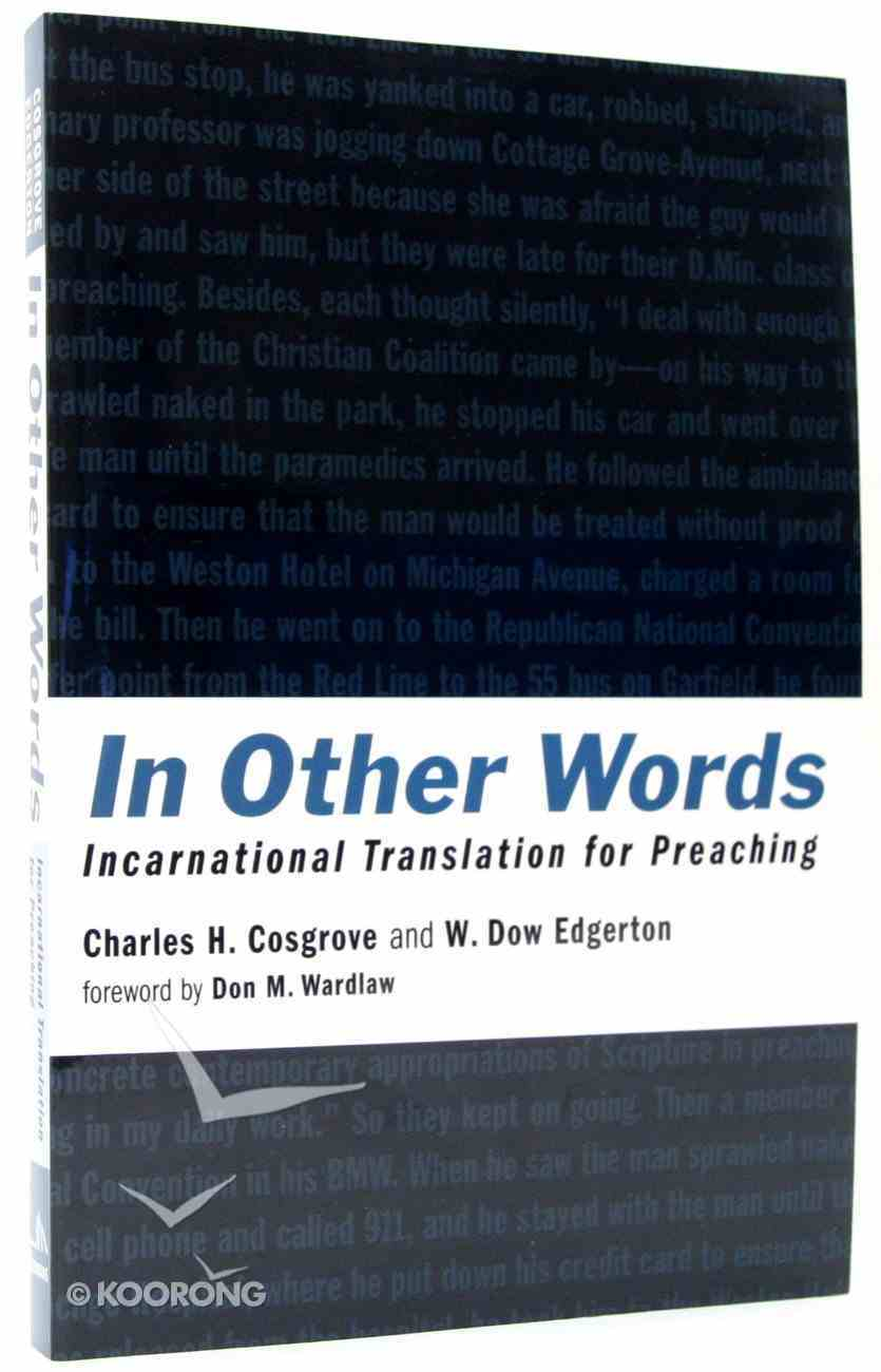 In Other Words Paperback