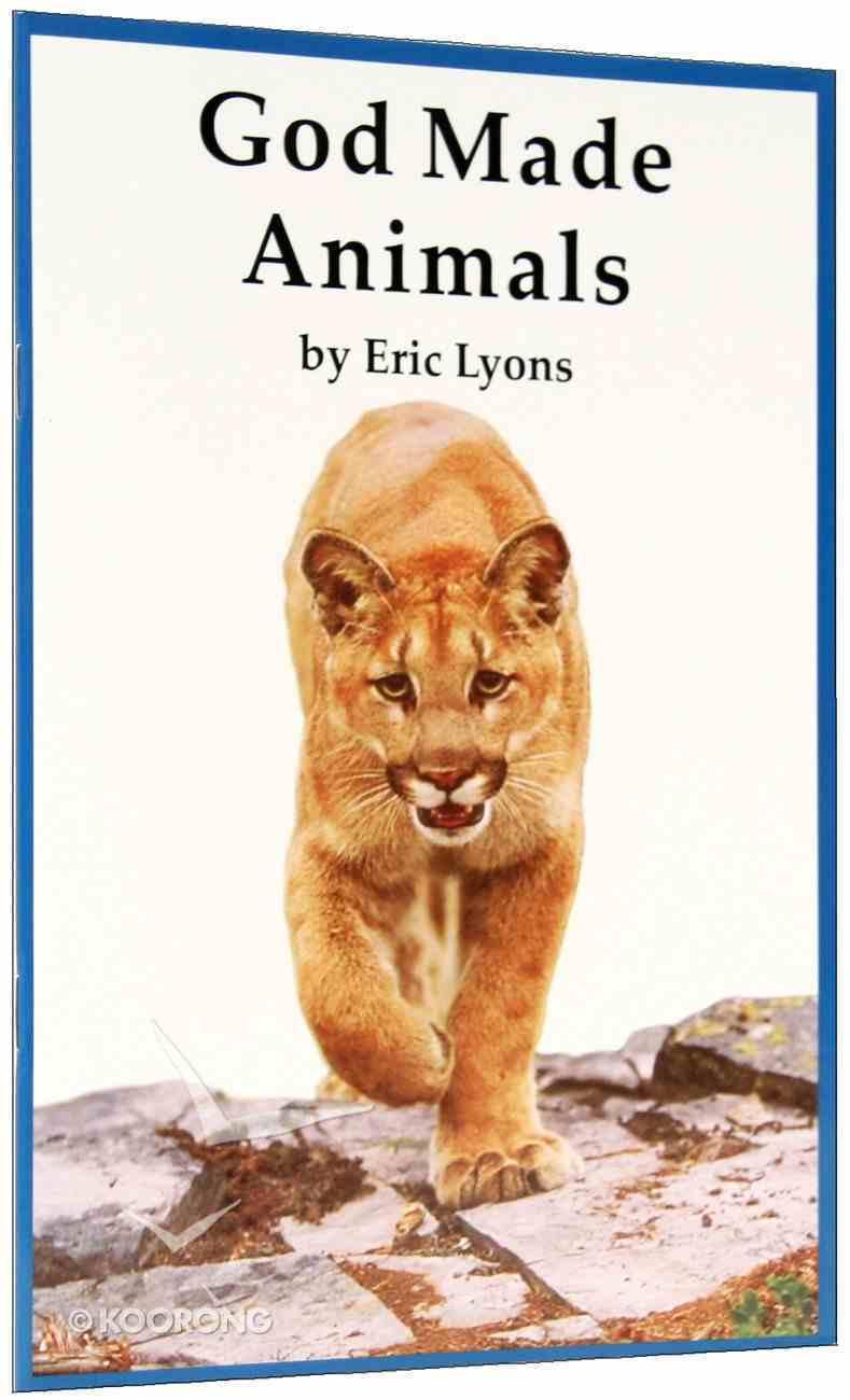 God Made Animals (A P Reader Series) Paperback