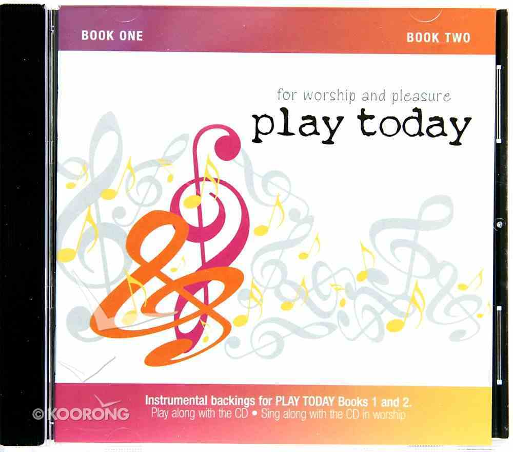 Play Today #01 & #02: Instrumental Backings (Accompaniment) CD