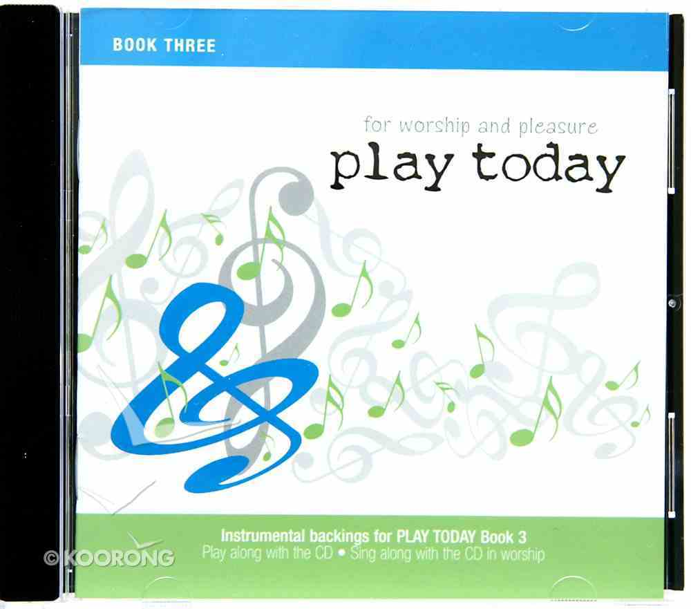Play Today #03: Instrumental Backings (Accompaniment) CD