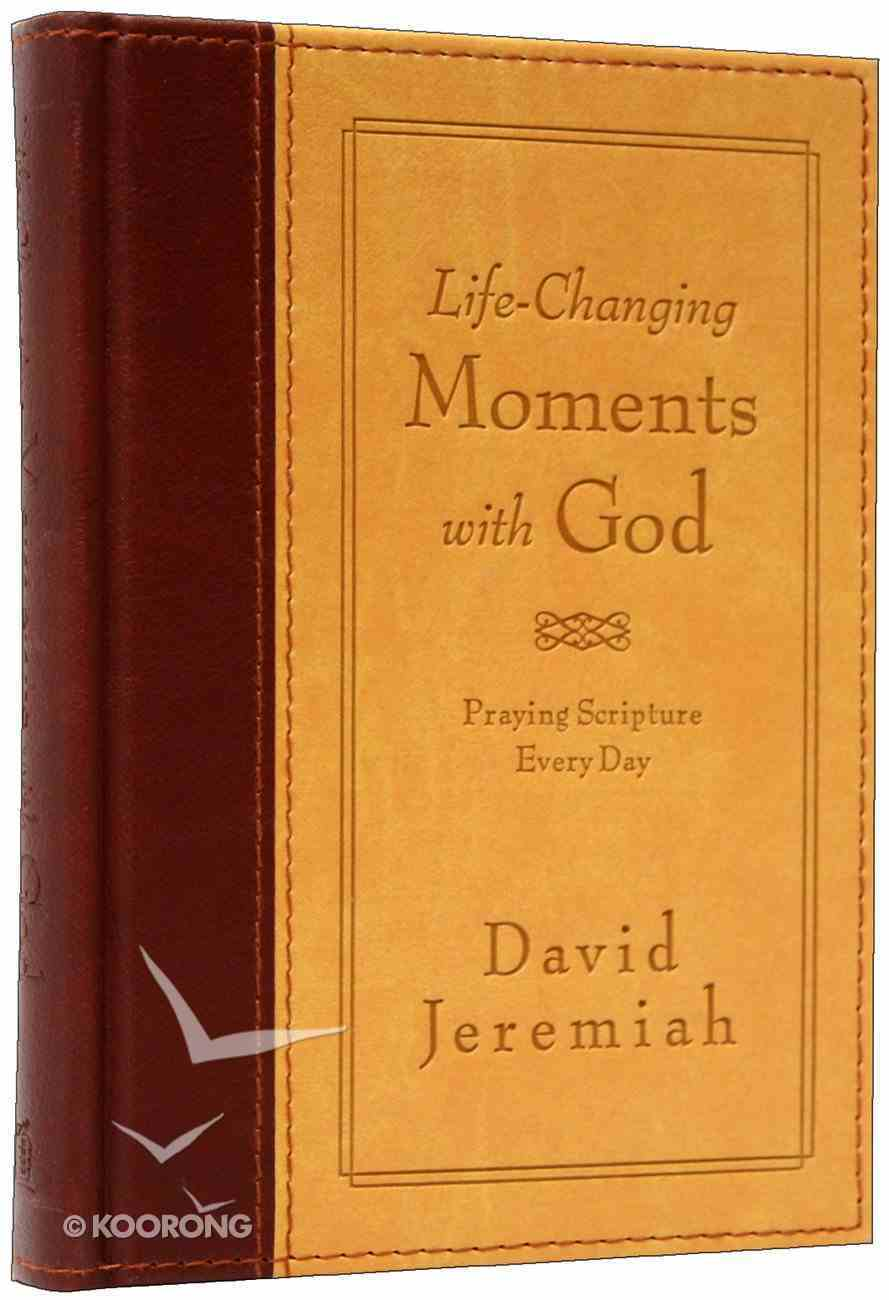 Life-Changing Moments With God Imitation Leather