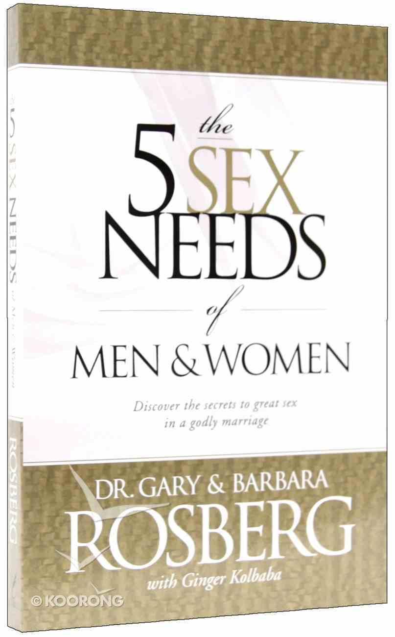 The 5 Sex Needs of Men & Women Paperback