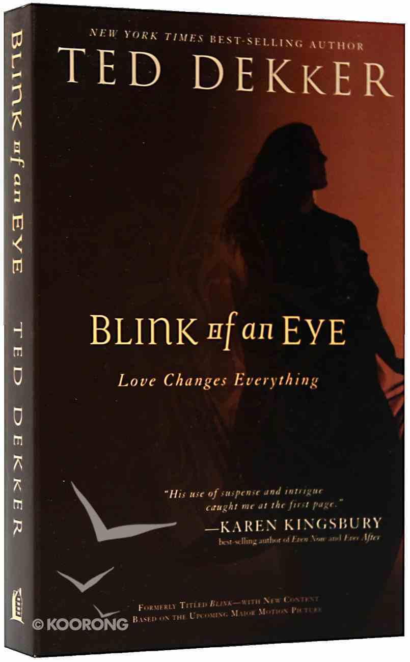Blink of An Eye Paperback