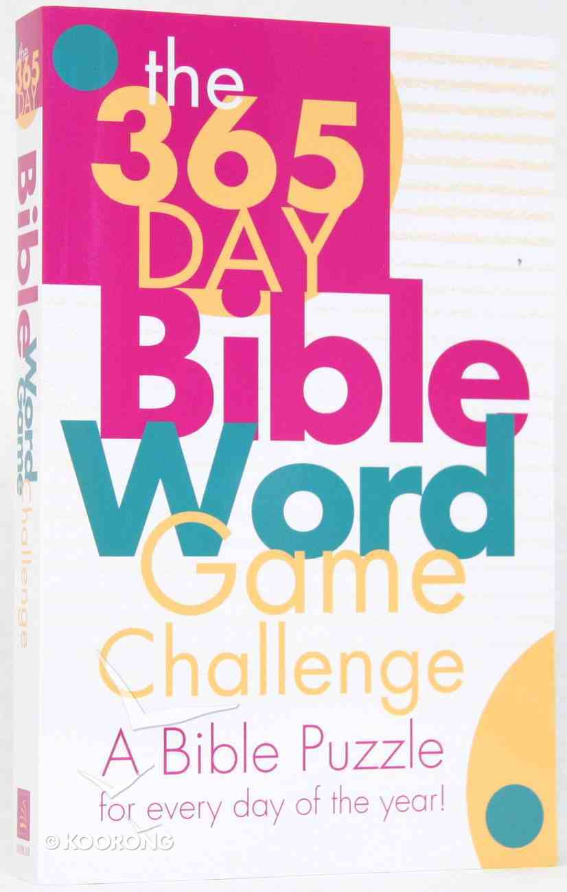 365 Day Bible Word Game Challenge Paperback
