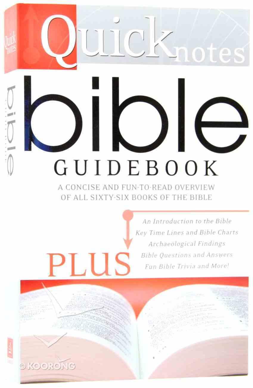 Quicknotes Bible Guidebook Paperback