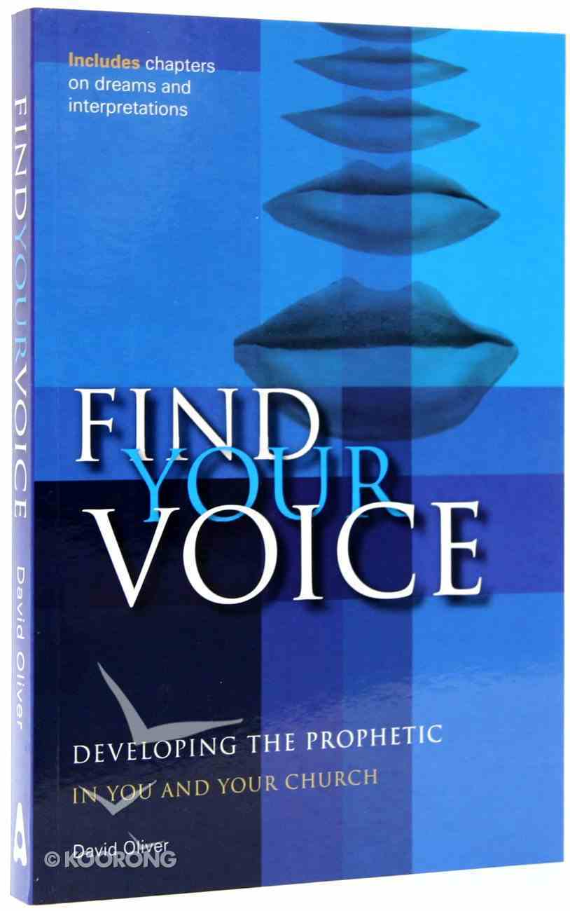 Find Your Voice Paperback