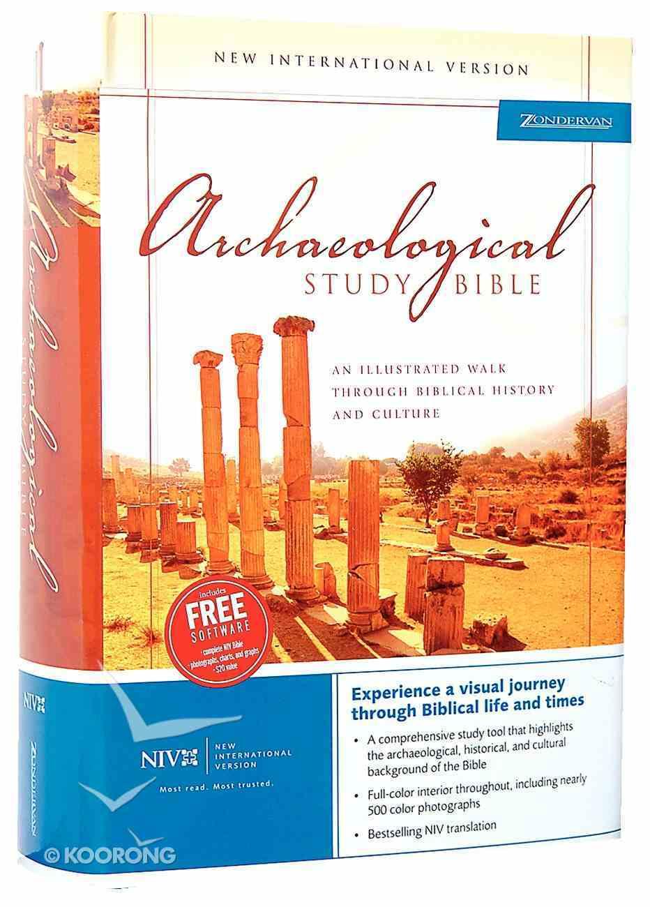 NIV Archaeological Study Bible (1984) Hardback