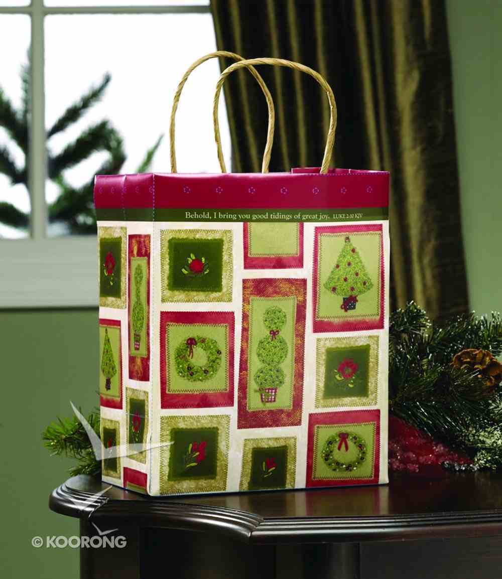 Gift Bag Medium: Patchwork Stationery