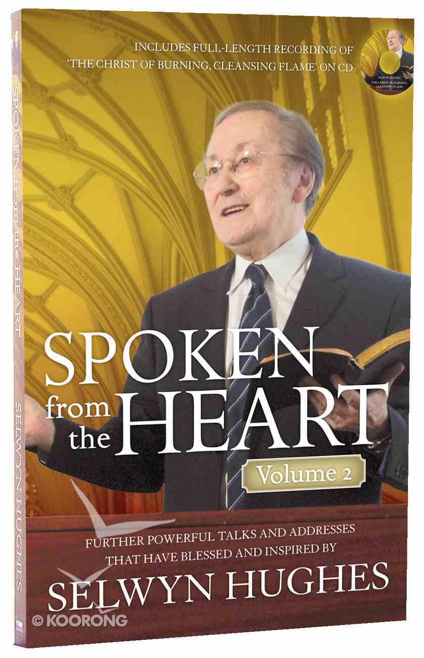 Spoken From the Heart With CD (Vol 2) Paperback