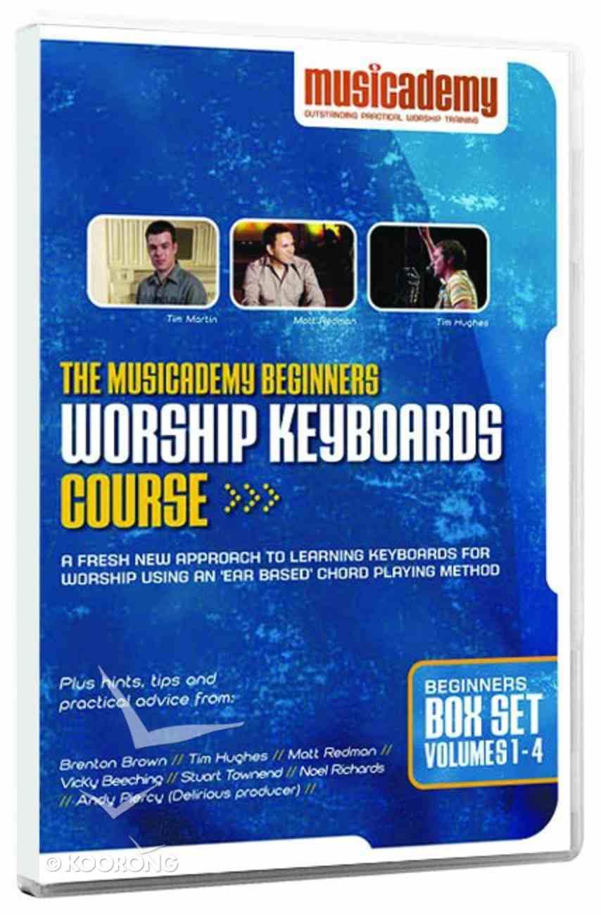 Musicademy: Beginner's Worship Keyboard Box Set (4 Dvd Set) DVD