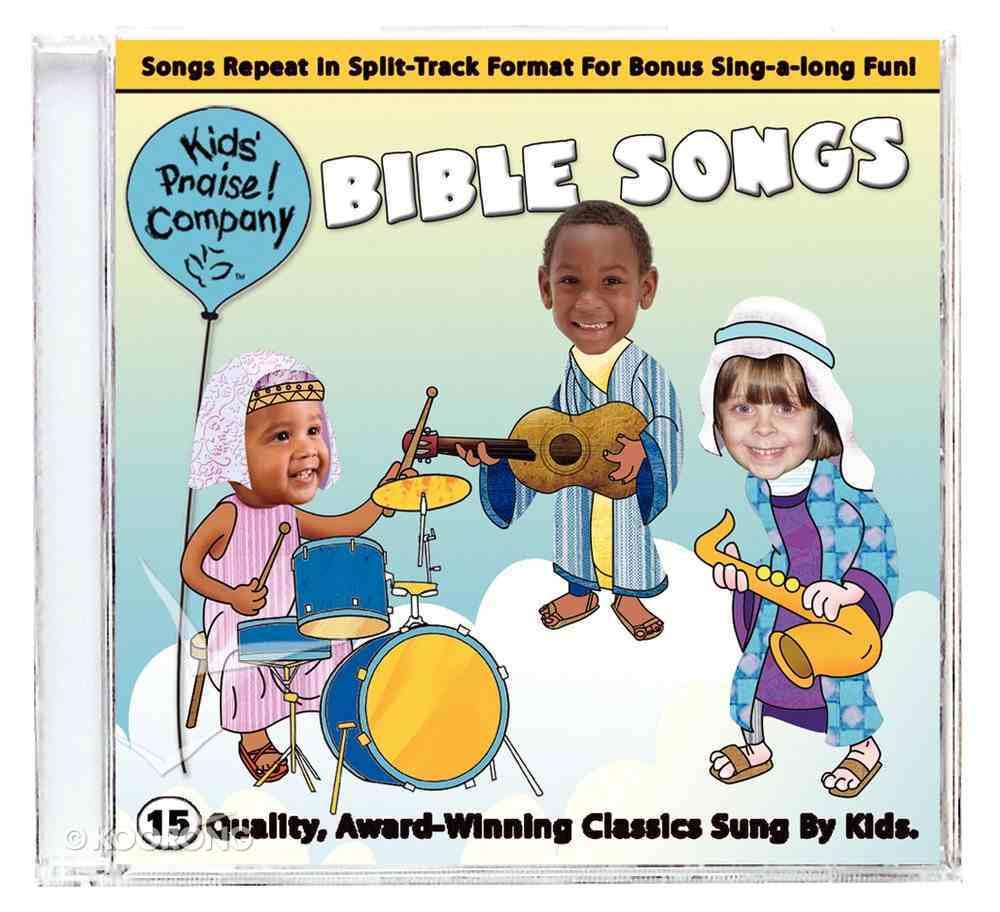 Kids Praise Bible Songs CD