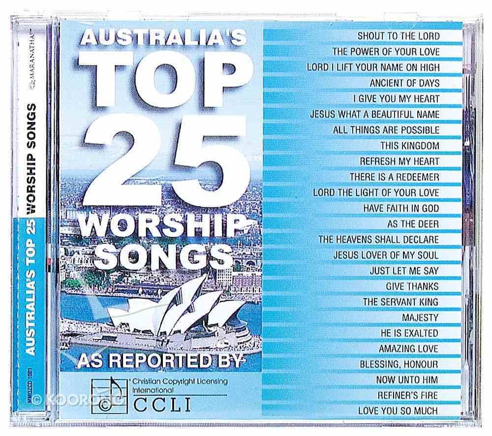 Ccli Australia's Top 25 Worship Songs CD