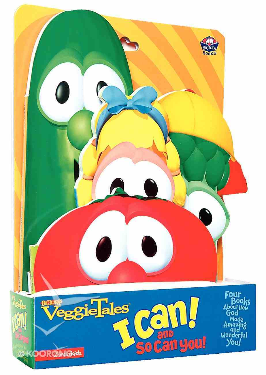 I Can! and So Can You! (4 Book Set) (Veggie Tales (Veggietales) Series) Hardback