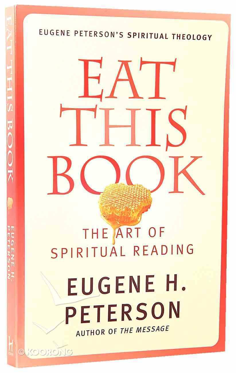 Eat This Book (#02 in Spiritual Theology Series) Paperback