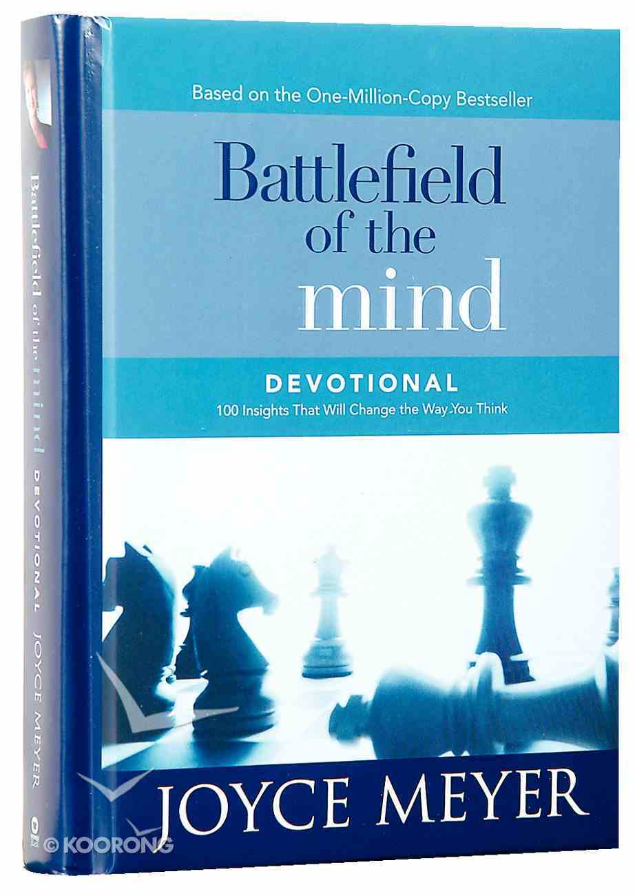 Battlefield of the Mind Devotional: 100 Insights That Will Change the Way You Think Hardback