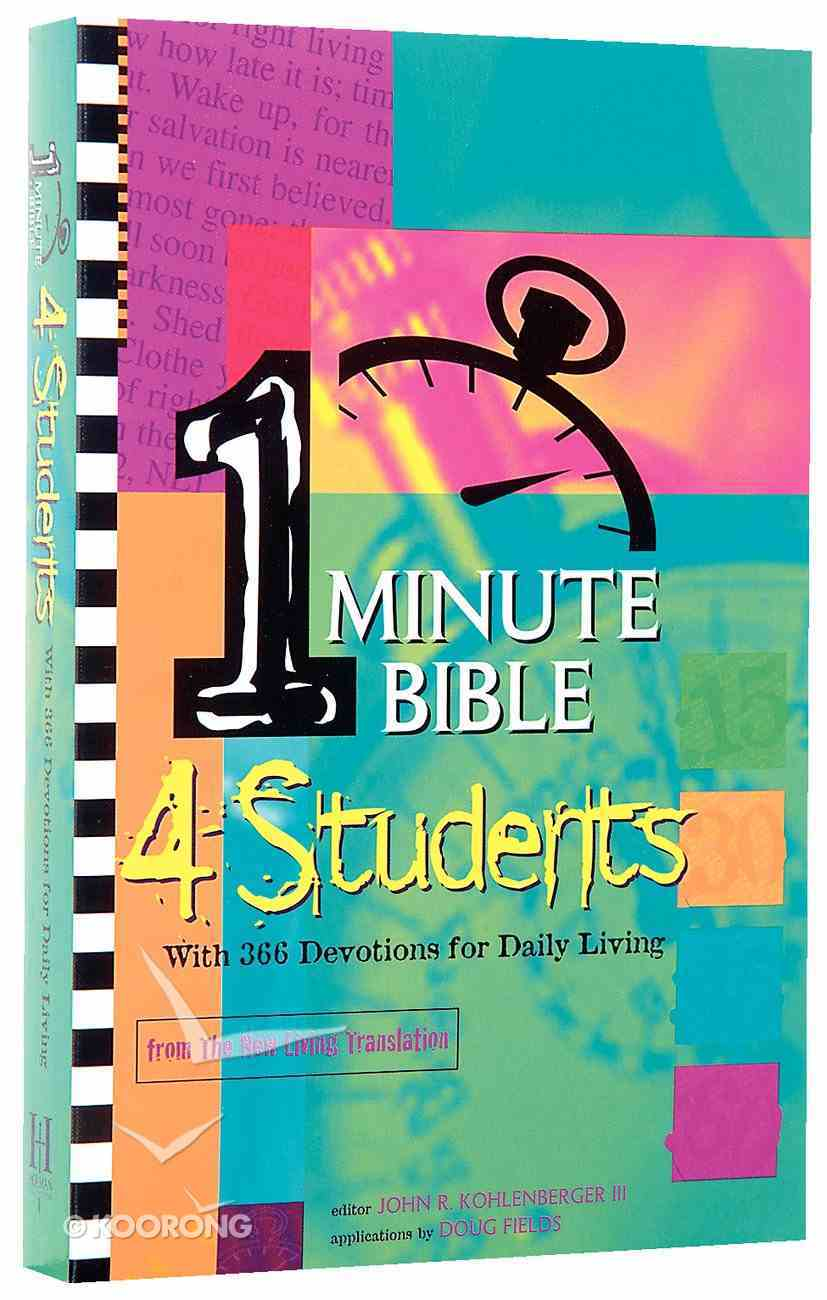 1 Minute Bible 4 Students Paperback