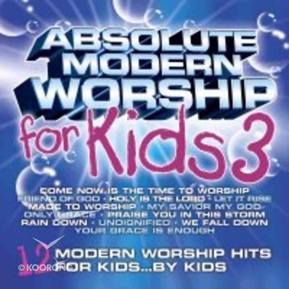 Absolute Modern Worship For Kids (Vol 3: Blue) CD