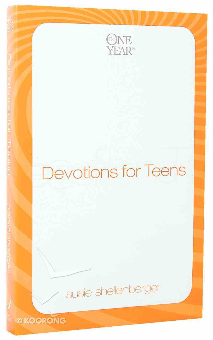 Devotions For Teens (One Year Series) Paperback