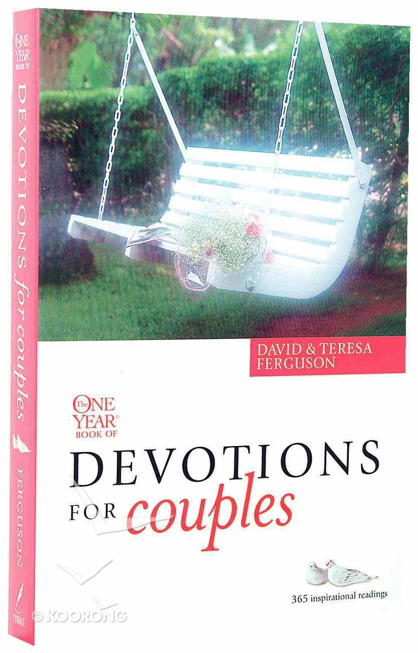 The One Year Book of Devotions For Couples Paperback