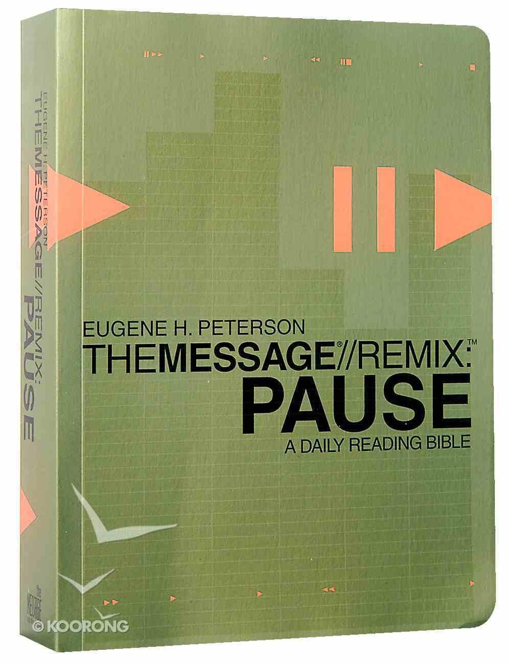 Message: Remix Pause Paperback