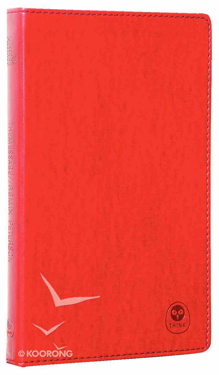 Message Remix New Testament Burgundy Imitation Leather