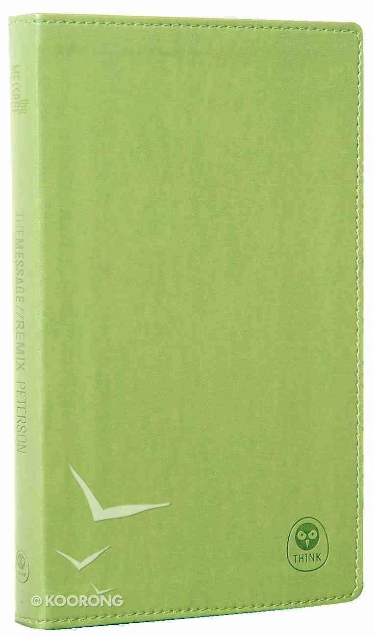 Message Remix New Testament Bright Green Imitation Leather