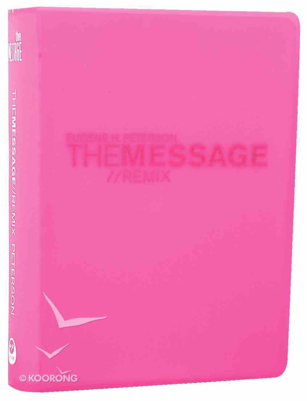 Message Remix 2.0 Hypercolour Pink (Black Letter Edition) Vinyl