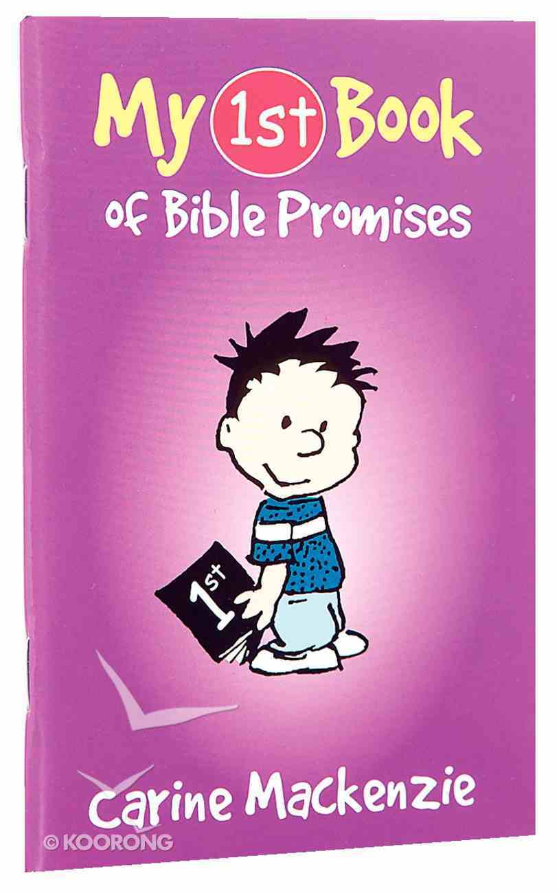 My 1st Book of Bible Promises (My 1st Book Series) Paperback