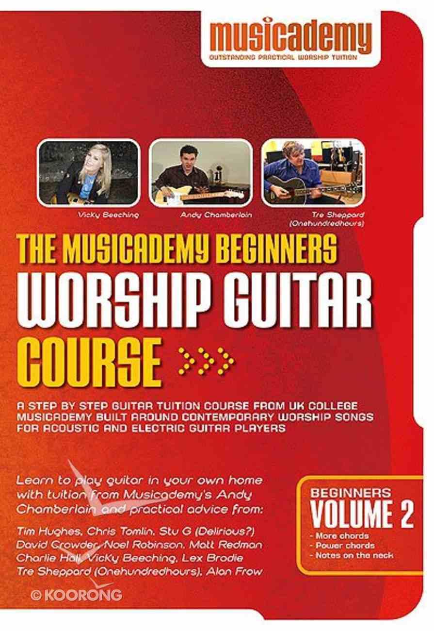 Musicademy: Beginner's Worship Guitar Volume 2 DVD